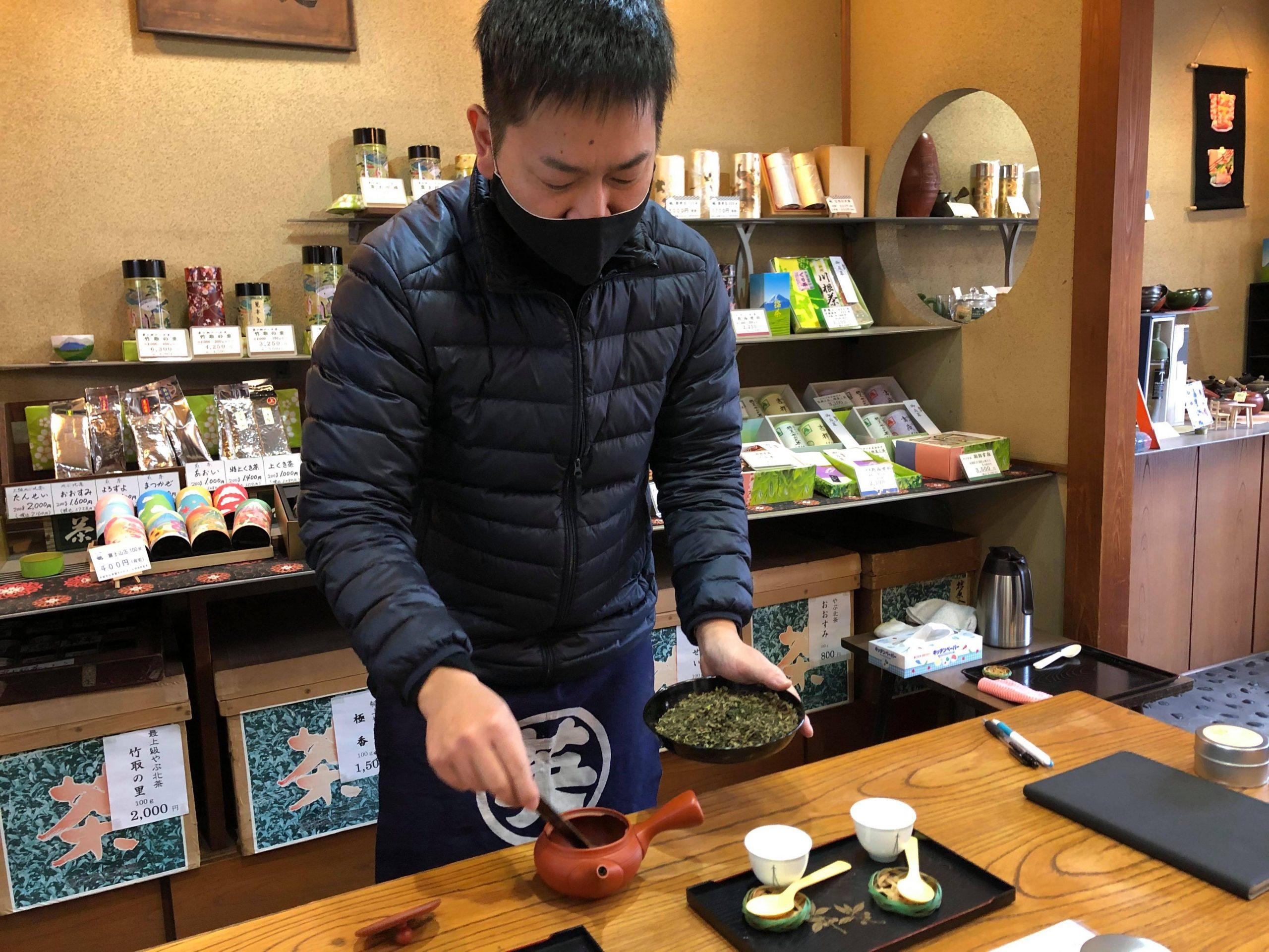 くぼた園 店主 窪田哲夫